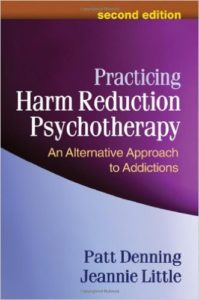 substance abuse treatment book practicing harm reduction psychotherapy